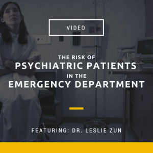 VIDEO_ Psychiatric Patients in ED